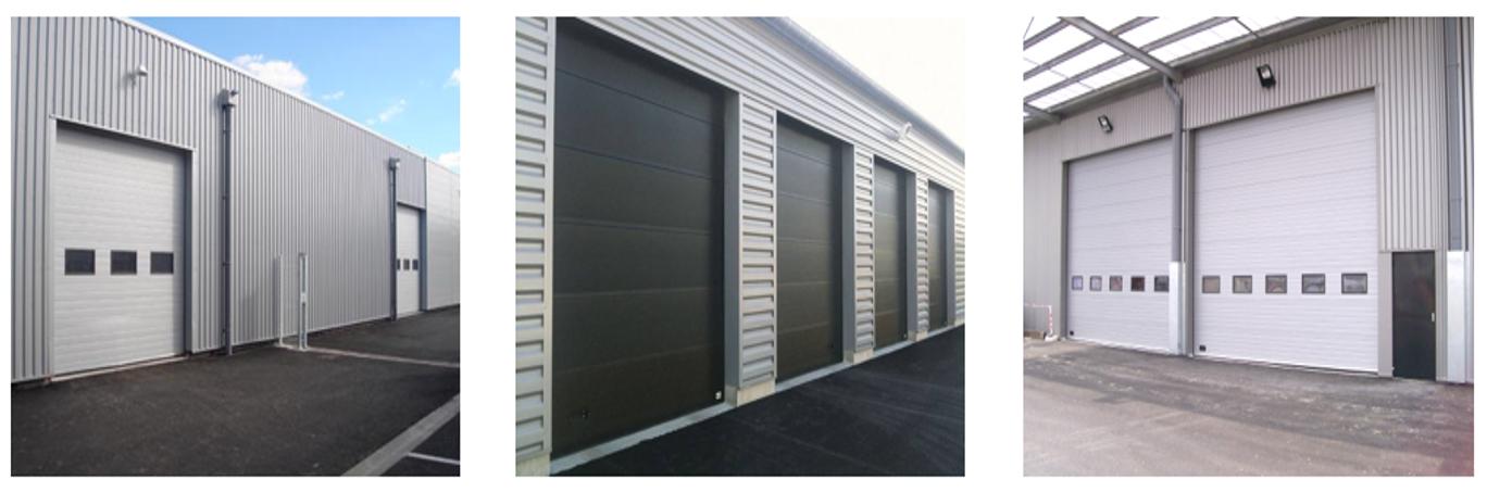 Portes de garage industrielles